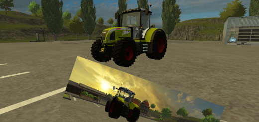 Claas520-Tractor